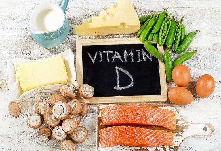 비타민 D 결핍증 비타민 D 공급원