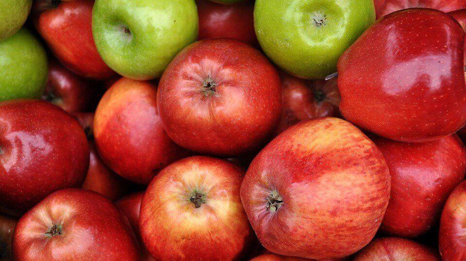 사과, 키위, 치아씨 스무디