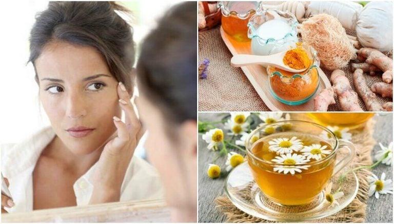 눈 밑 처진 살을 자연적인 방법으로 줄여주는 5가지 미용 치료법