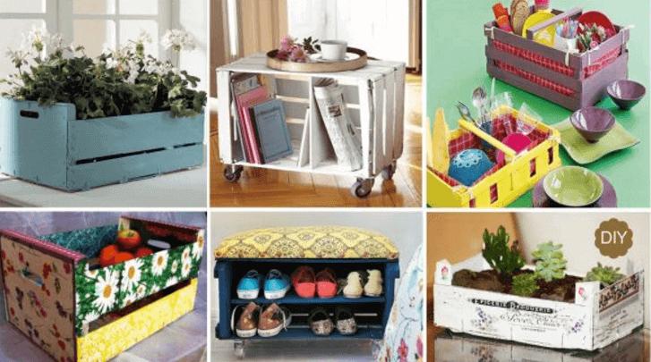 상자로 만드는 재미있는 공예품 7가지