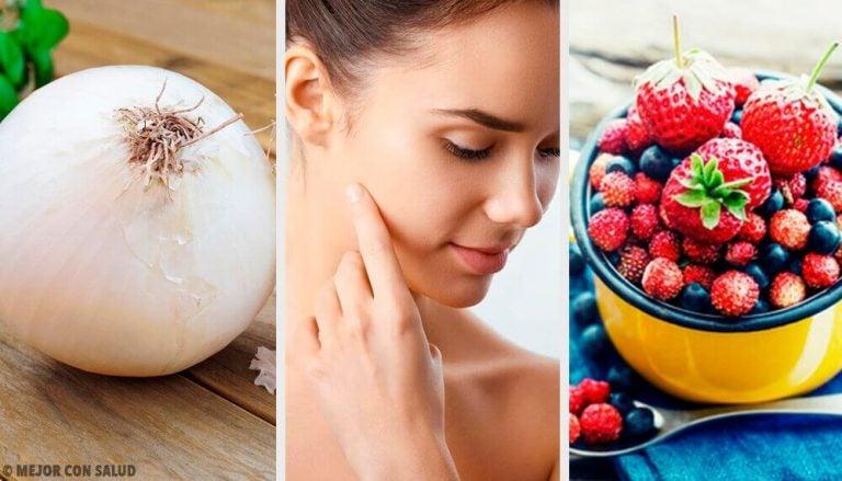 피부에 콜라겐을 가장 많이 공급하는 8가지 식품