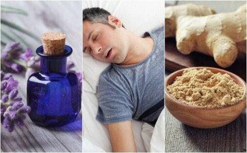 수면 무호흡증을 위한 자연 요법 5가지