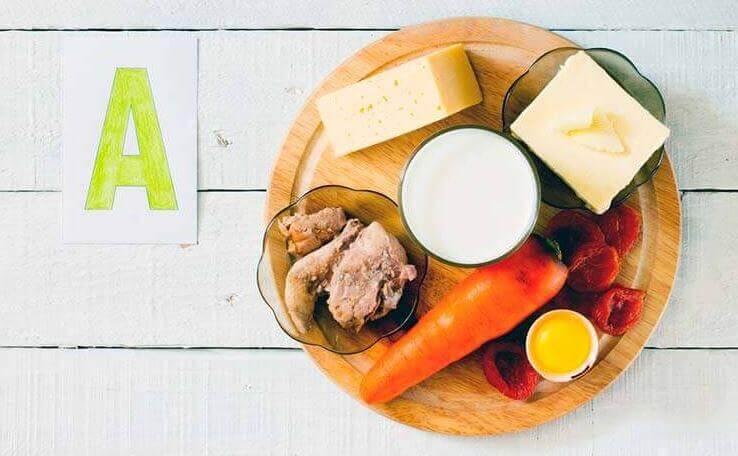 면역 체계를 강화하는 비타민 비타민 A