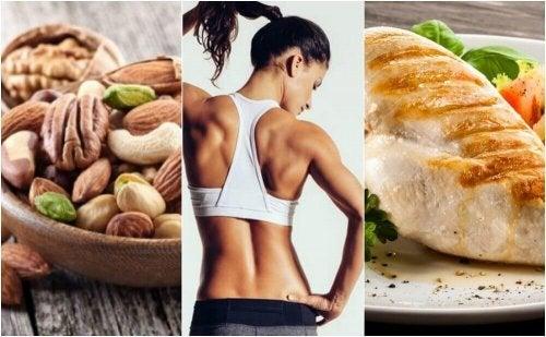근육을 단련하는 데 효과적인 음식