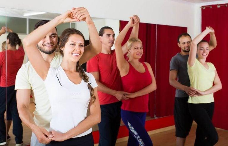 춤의 이점 6가지