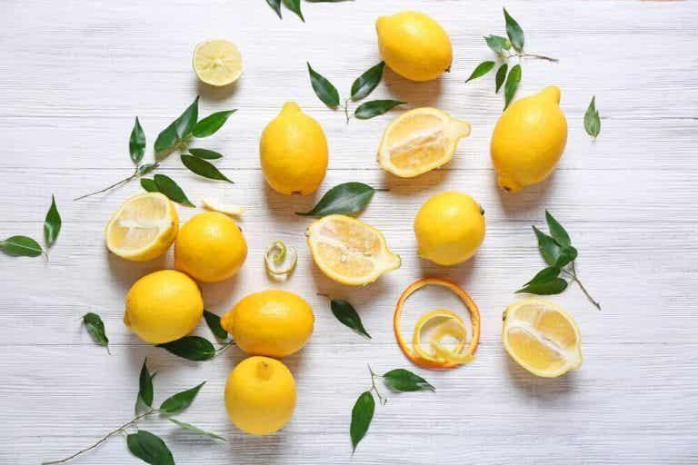 레몬의 효능 및 레몬 자연 요법