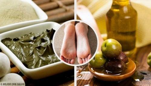 건조한 발뒤꿈치를 촉촉하게 만드는 자연요법