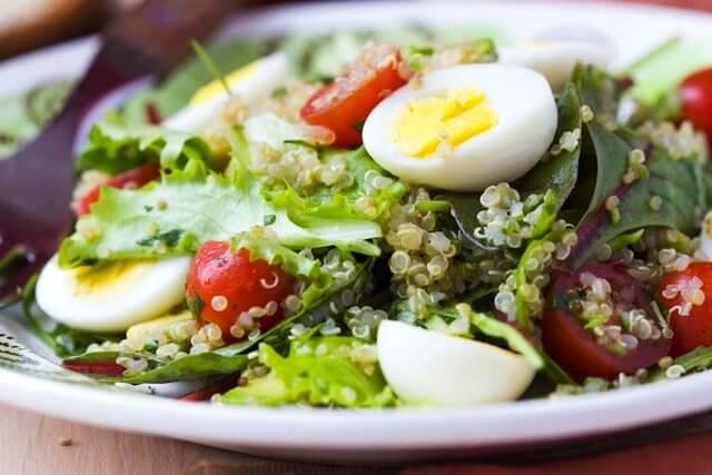 닭고기 없이 독창적인 단백질 요리를 만들어 보자 참치 샐러드