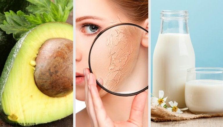 건조한 피부를 보습하는 가정 요법 10가지