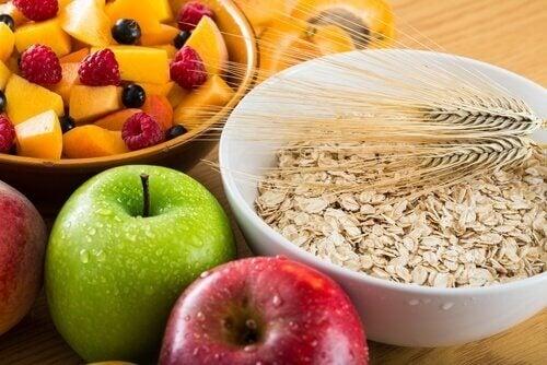 식이섬유가 풍부한 음식은 체중 감량에 좋다