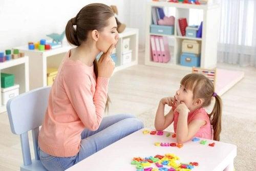 언어 장애 아동을 돕기 위한 6가지 운동