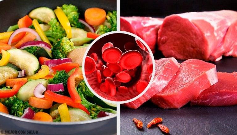 정상 헤모글로빈 수치를 위해 섭취해야 하는 식품