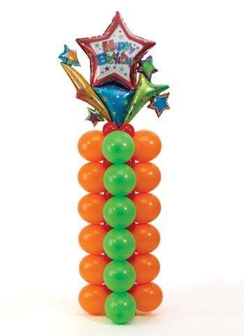 풍선 장식 기둥