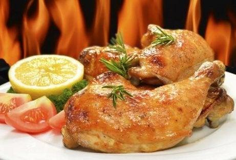 닭고기구이 로즈메리