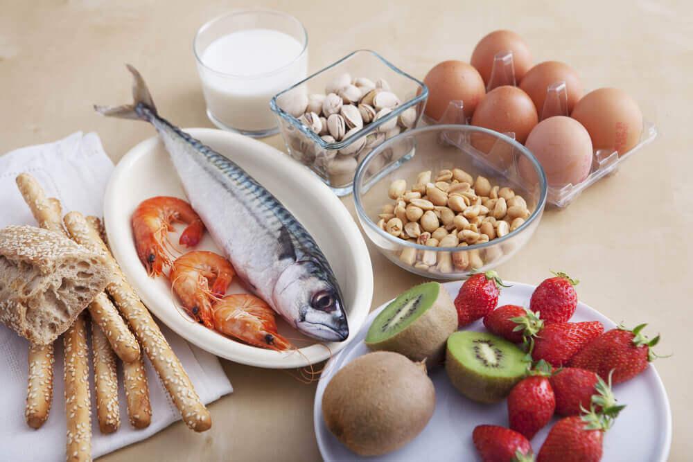 흔한 음식 알레르기에는 어떤 것들이 있을까?