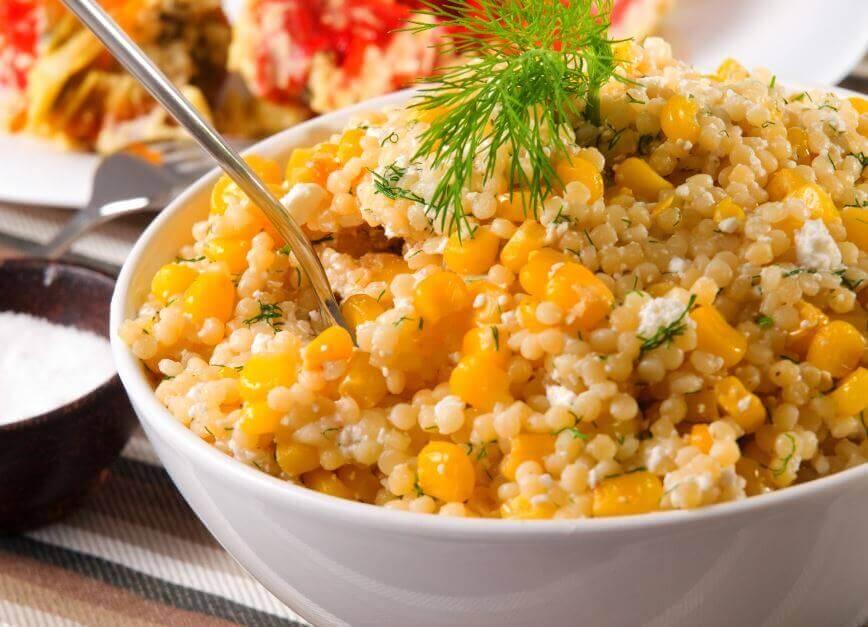 퀴노아를 이용한 3가지 맛있는 샐러드 퀴노아 옥수수