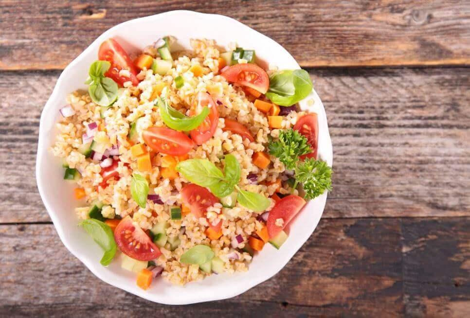 퀴노아를 이용한 3가지 맛있는 샐러드