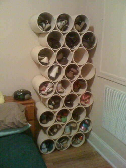판지로 나만의 개성있는 신발장 만들기