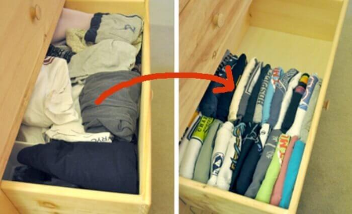 깔끔한 옷장 정리를 위한 10가지 팁