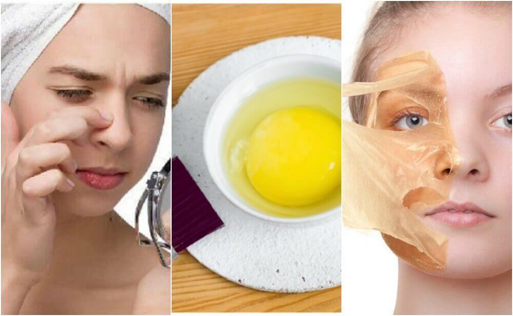 피부 미용을 위한 5가지 달걀 마스크