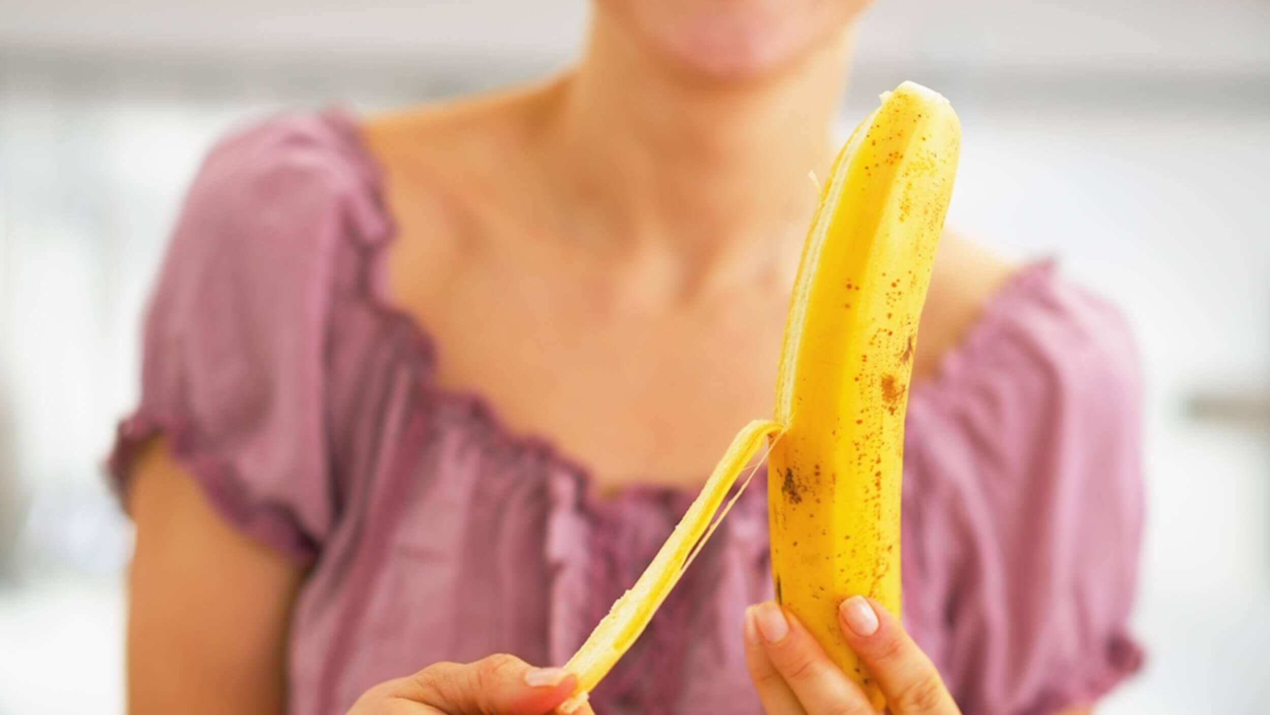 속쓰림을 가라앉히는 자연 치료법 바나나
