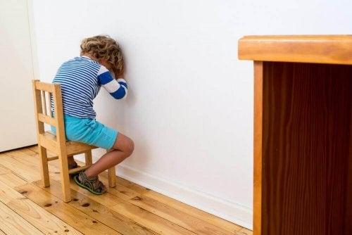 아이를 처벌하는 방법에 대한 5가지 대안