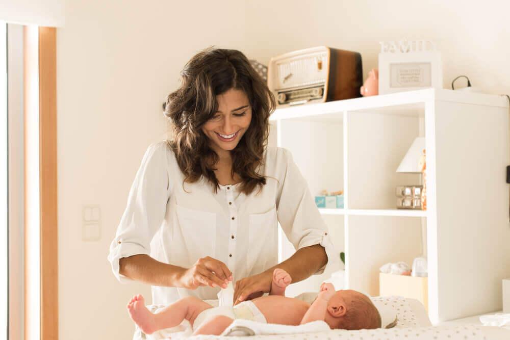 아기 땀띠에 대처하는 방법