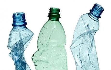플라스틱 병으로 화분을 만들자