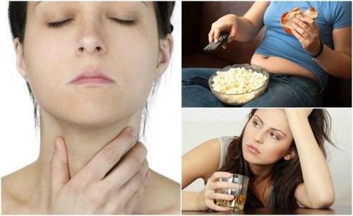무심코 갑상샘 건강을 위협하는 습관 7가지