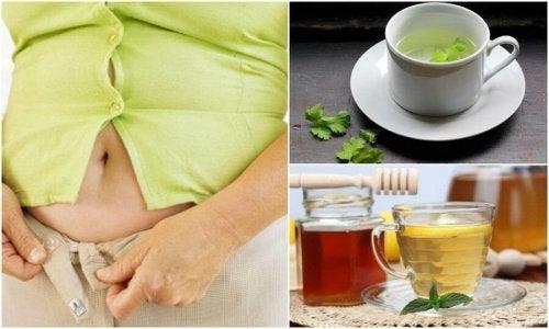 복부 팽만을 줄여주는 가정 요법 5가지