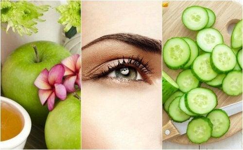 처진 눈꺼풀을 올려주는 5가지 천연 요법