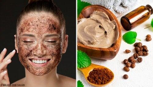 얼굴 피부 재생에 도움이 되는 커피 활용법