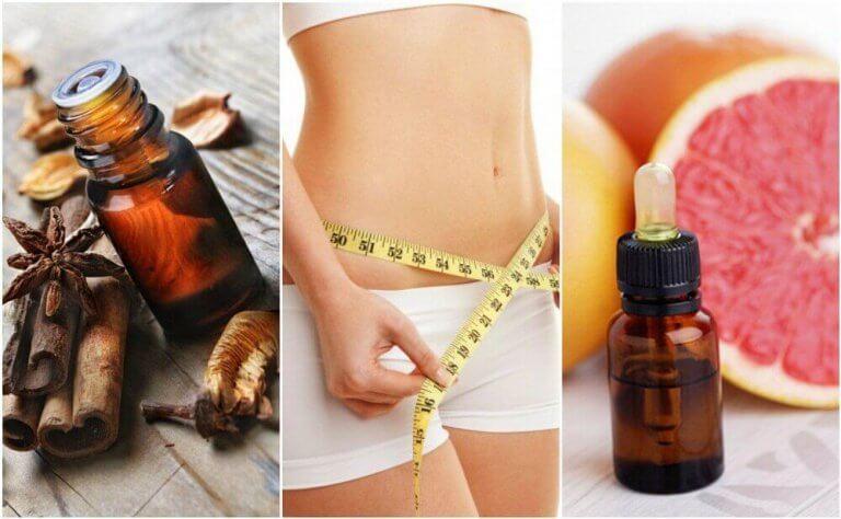 체중 감량에 도움을 주는 에센셜 오일