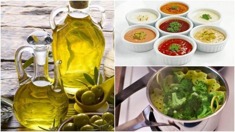 콜레스테롤 섭취를 줄이는 조리 방법