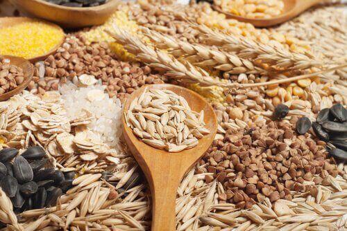 건강한 피부를 위한 통곡물