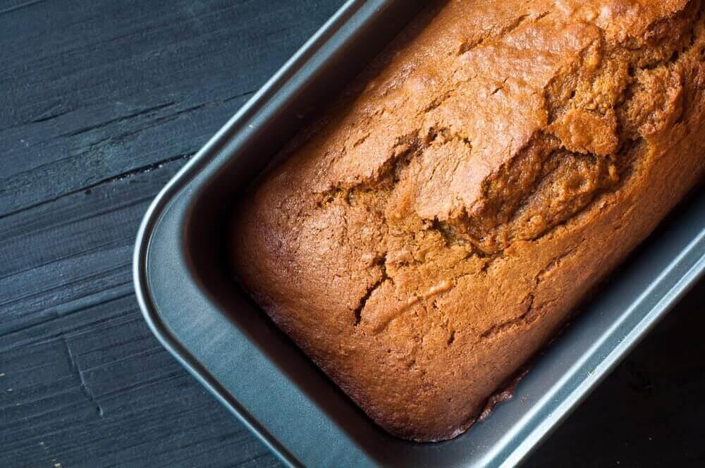 통밀가루로 맛있는 호박 케이크 만들기