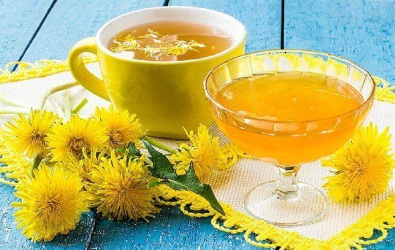 민들레 음료 - 뼈 건강을 위한 가정 요법