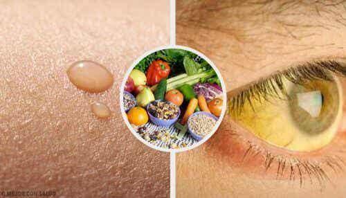 비타민 결핍에 따른 일반적인 증상 10가지와 대처 방법