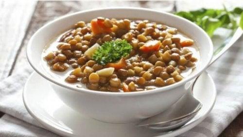 맛있는 스페인식 콩 요리, 렌테하스 만들기