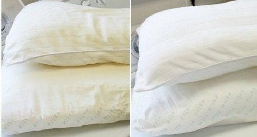 베개를 세탁하고 소독하는 방법 4가지