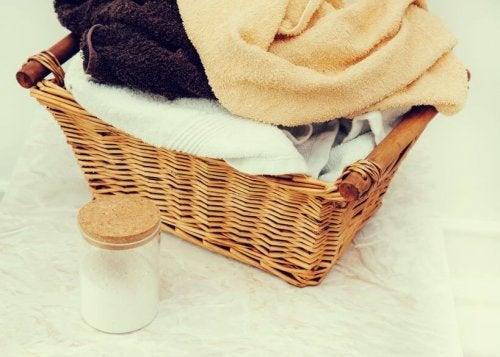 수건 섬유유연제