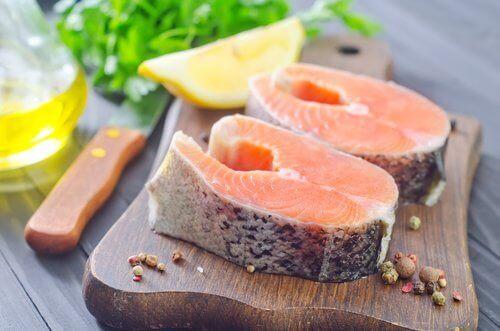 연어 아름다운 머릿결을 위한 12가지 식품