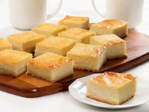 오븐 없이 만드는 코티지 치즈케이크 레시피