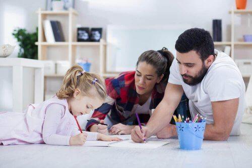 자녀의 학업 성적에 대처하는 부모의 자세