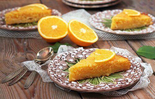 홈메이드 오렌지 케이크 레시피
