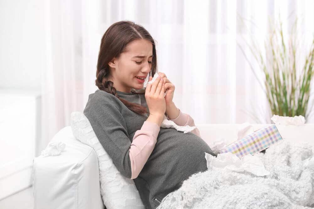임신 중에 울면 태아에게 영향을 줄까?