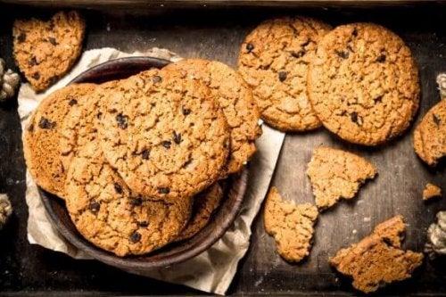 이스트 없이 굽는 홈메이드 오트밀 쿠키