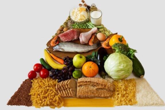 건강한 라이프스타일을 위한 새로운 음식 피라미드