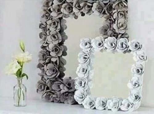 빈티지한 방 꾸미기 : 거울