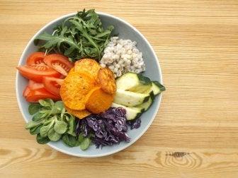 건강한 삶을 위한 새로운 음식 피라미드
